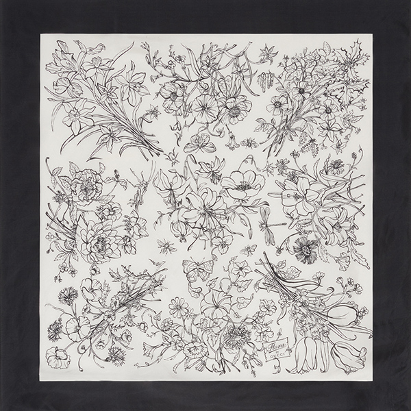 Flora B&W by Gucci