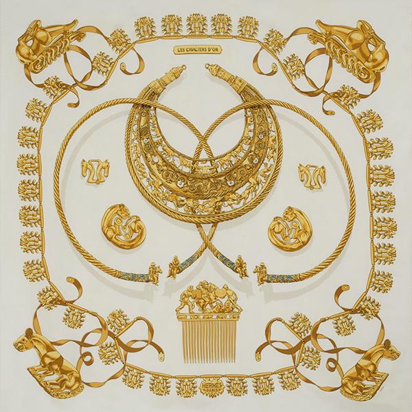 Les Cavaliers d'Or White by Hermès
