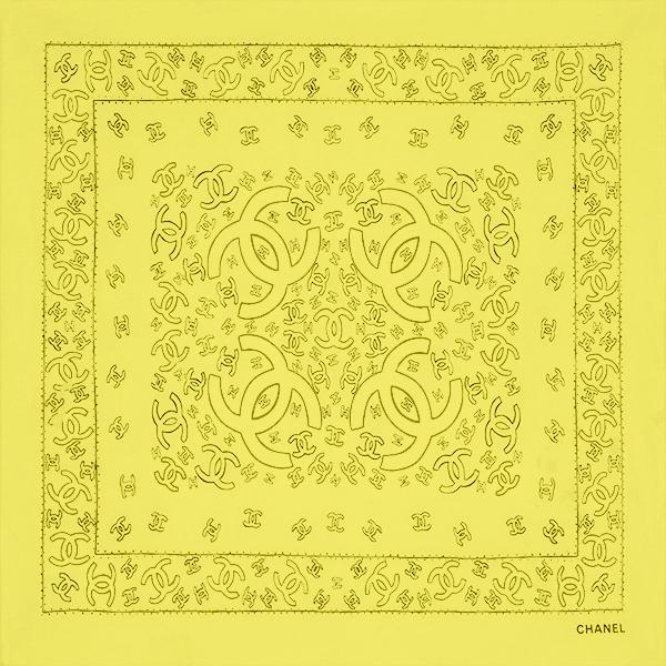 Bandana Yellow by Chanel