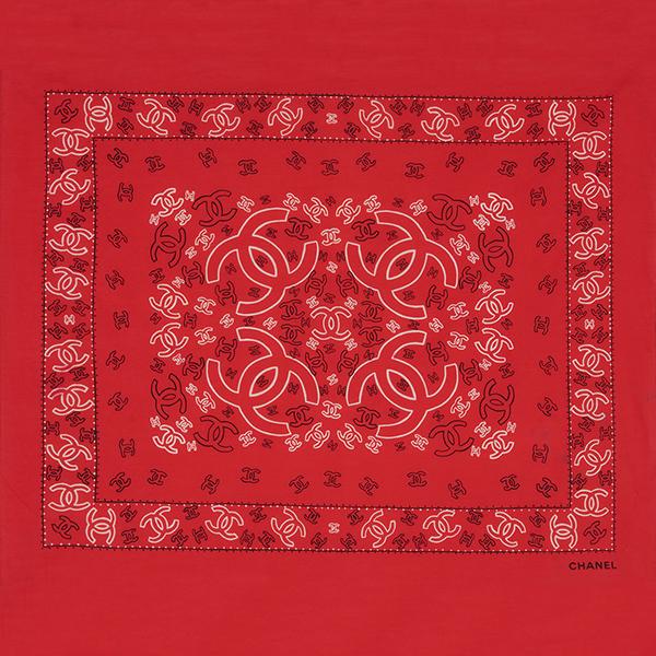 Red Bandana by Chanel