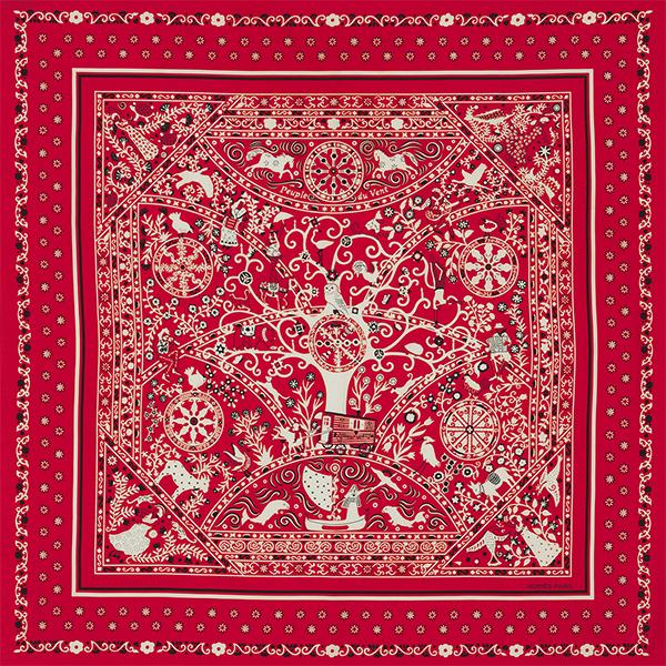 Peuple du Vent Red by Hermès